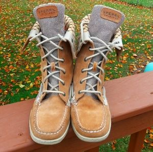 Sperry Top Sider 9173832 Suede Ankle Boots 7.5